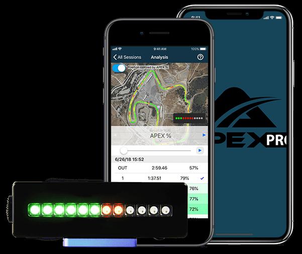 apex pro digital driving coach LED Display
